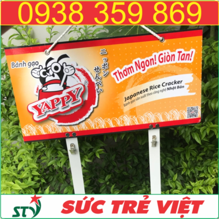 Hanger quang cao yappy